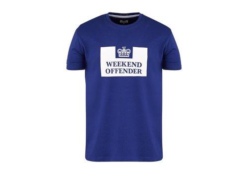 Weekend Offender Weekend Offender Prison logo t-shirt Marine Blue
