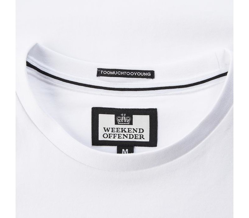 Weekend Offender Disorder t-shirt White