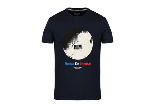 Weekend Offender Weekend Offender Fiesta de Futbol t-shirt Navy