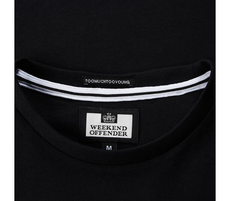 Weekend Offender Unknown Pleasures t-shirt Black