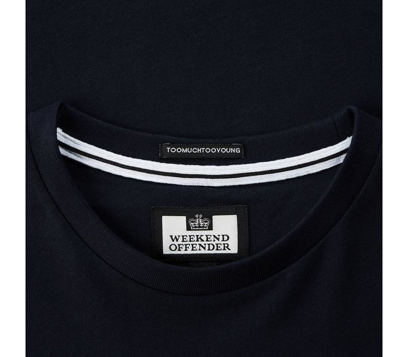 Weekend Offender Stamps t-shirt Navy
