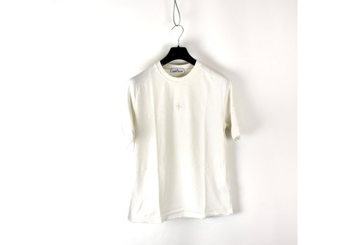 Stone Island Stone Island white compass embroidery t-shirt S