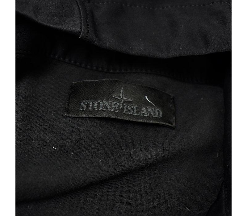 Stone Island black ghost piece nylon cotton 3l jacket XXXL