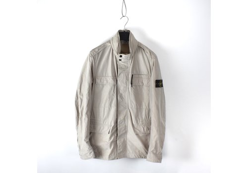 Stone Island Stone Island beige micro reps field jacket XL
