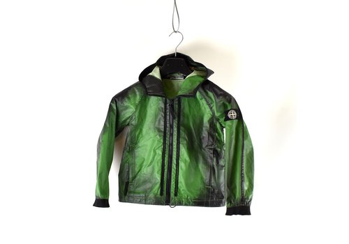 Stone Island Stone Island junior green heat reactive hooded jacket age 8 size 128