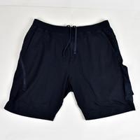Stone Island navy monchromatic ghost sweat shorts  XL