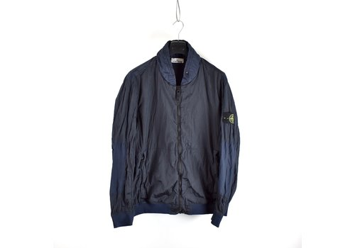 Stone Island Stone Island navy nylon metal watro ripstop bomber jacket XXXL