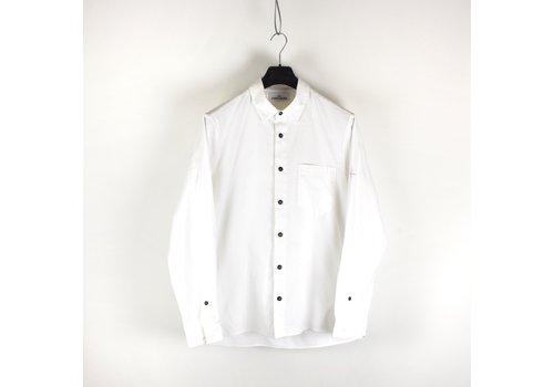 Stone Island Stone Island white heavy cotton long sleeve shirt XL