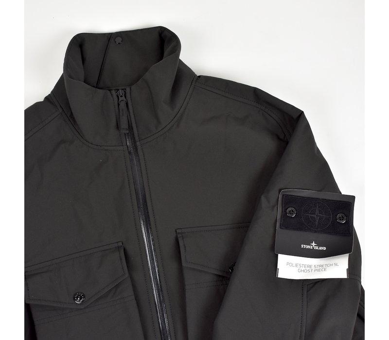 Stone Island grey monochromatic ghost 5l poliestere jacket XL