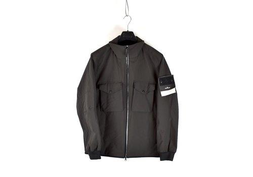 Stone Island Stone Island grey monochromatic ghost 5l poliestere jacket XL