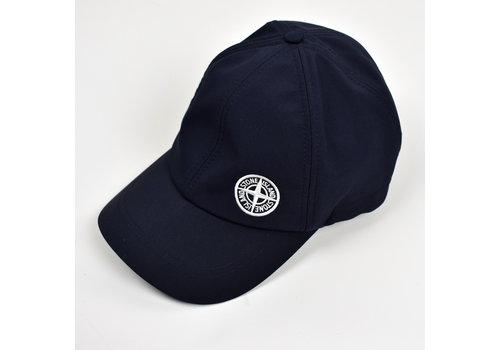 Stone Island Stone Island dark navy softshell-r compass logo cap