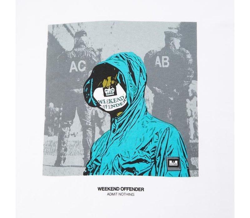 Weekend Offender ACAB t-shirt White