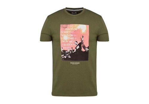Weekend Offender Weekend Offender True Faith t-shirt Military Green