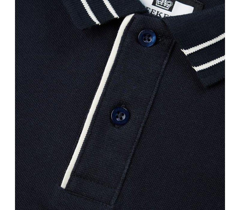 Weekend Offender Bermejo polo Navy