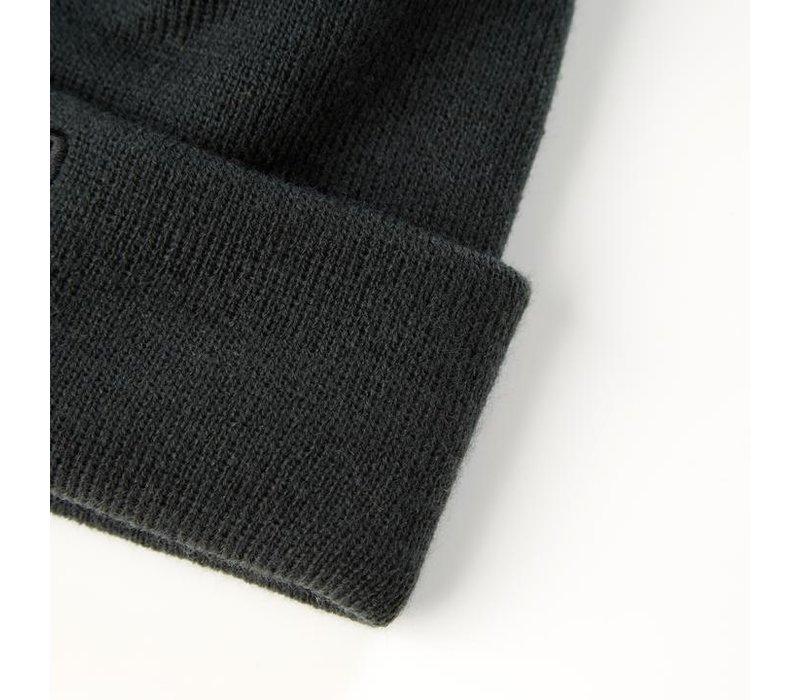 Weekend Offender Zambada knit bobble beanie hat Deep Forrest Green