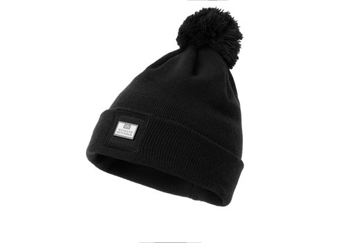 Weekend Offender Weekend Offender Zambada knit bobble beanie hat Black