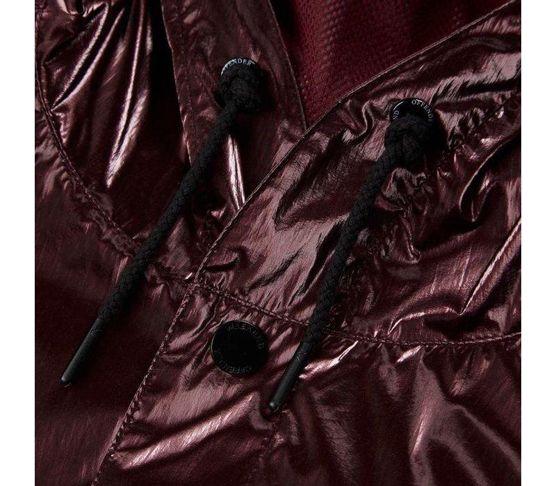 Weekend Offender Trinidad jacket Burgundy Red