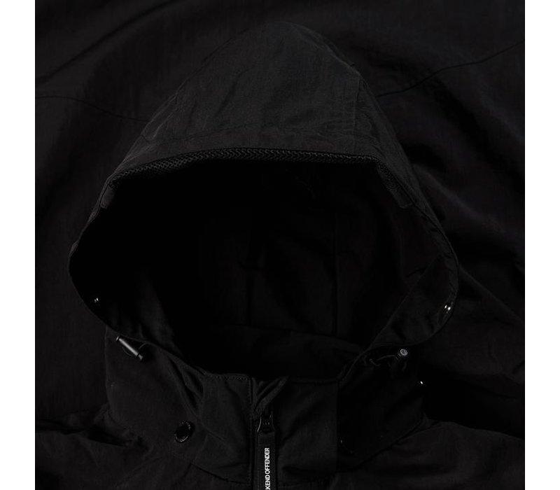 Weekend Offender Cobija face mask jacket Black