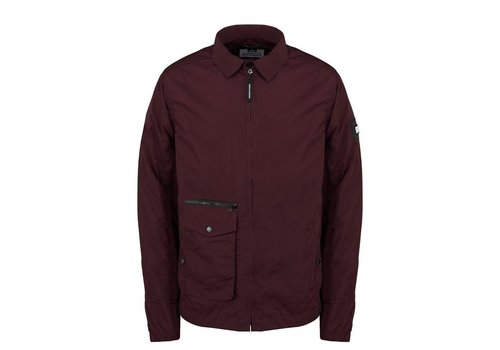 Weekend Offender Weekend Offender Vinnie overshirt jacket Burgundy Red