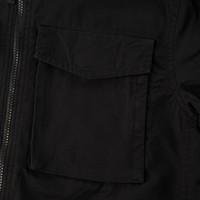 Weekend Offender Pileggi overshirt jacket Black