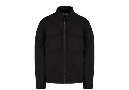 Weekend Offender Weekend Offender Pileggi overshirt jacket Black