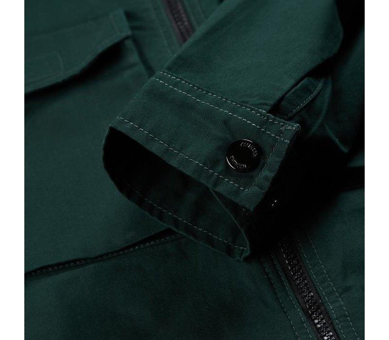 Weekend Offender Pileggi overshirt jacket Deep Forrest Green