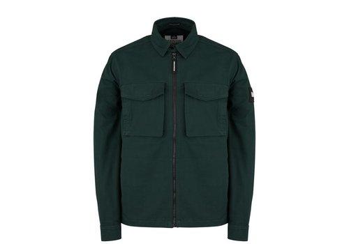 Weekend Offender Weekend Offender Pileggi overshirt jacket Deep Forrest Green