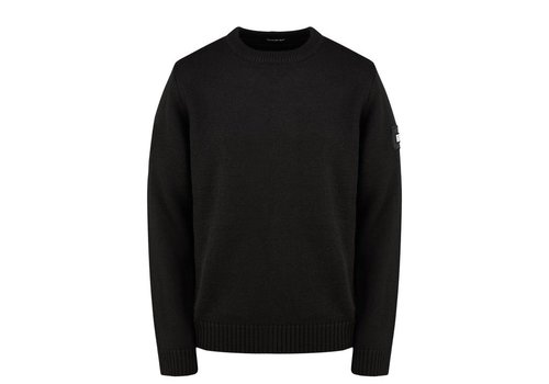 Weekend Offender Weekend Offender Cardona crew neck knit jumper Black