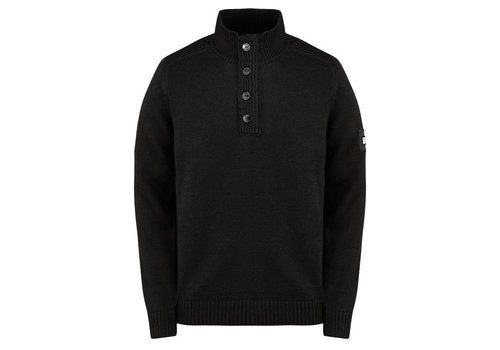 Weekend Offender Weekend Offender Castillos funnel neck knit jumper Black