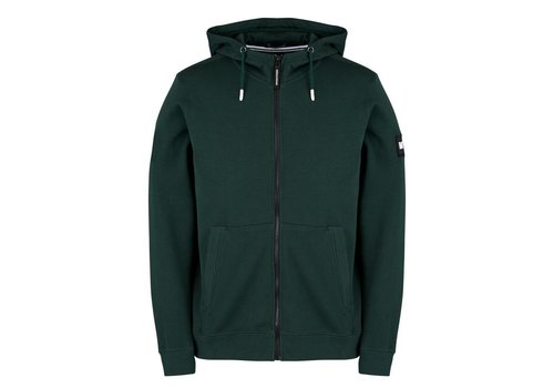 Weekend Offender Weekend Offender Caranavi hooded sweatshirt Deep Forrest Green
