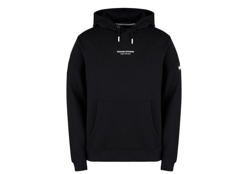 Weekend Offender Weekend Offender WO Hoody hooded sweatshirt Black