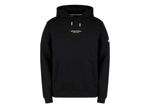 Weekend Offender Weekend Offender WO Hoody hooded sweatshirt Black