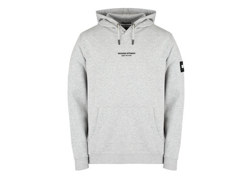 Weekend Offender Weekend Offender WO Hoody hooded sweatshirt Grey Marl