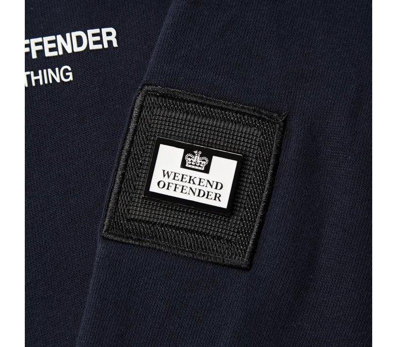 Weekend Offender WO Hoody hooded sweatshirt Navy