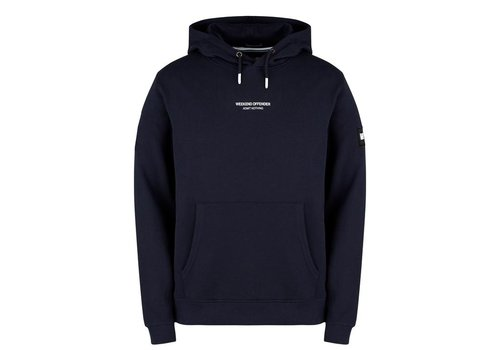 Weekend Offender Weekend Offender WO Hoody hooded sweatshirt Navy