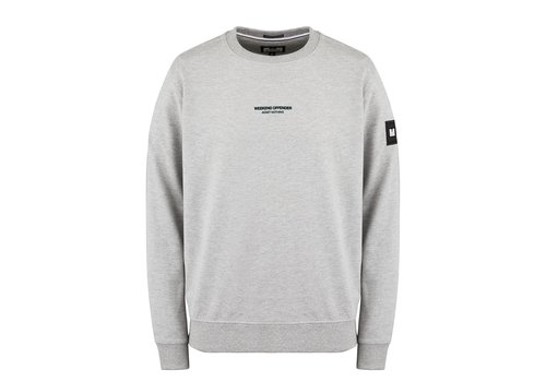 Weekend Offender Weekend Offender WO Sweat crew neck sweatshirt Grey Marl