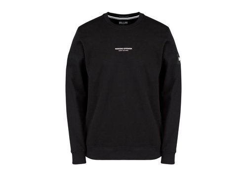 Weekend Offender Weekend Offender WO Sweat crew neck sweatshirt Black