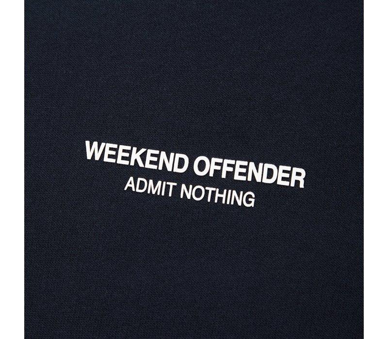Weekend Offender WO Sweat crew neck sweatshirt Navy