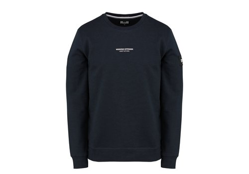 Weekend Offender Weekend Offender WO Sweat crew neck sweatshirt Navy