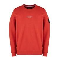 Weekend Offender WO Sweat crew neck sweatshirt Rust Red