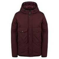 Weekend Offender Salinas jacket Burgundy Red
