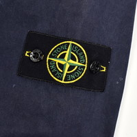 Stone Island navy tinto old cotton long sleeve shirt L