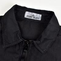 Stone Island black t.co + old cotton overshirt jacket XL