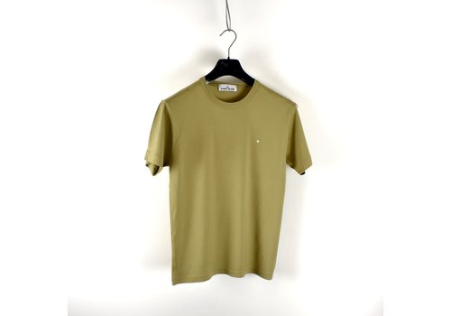 Stone Island Stone Island green star embroidery cotton short sleeve t-shirt S