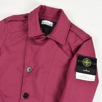 Stone Island purple david-tc with primaloft trench coat L