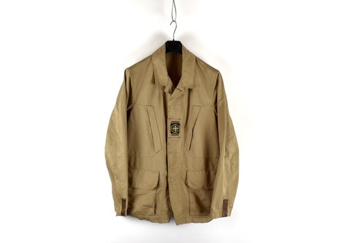 Stone Island Stone Island brown david microfiber chest badge blazer jacket XL