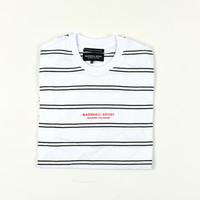 Marshall Artist striped nautics ss t-shirt White