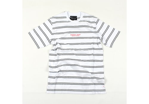 Marshall Artist Marshall Artist striped nautics ss t-shirt White
