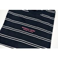 Marshall Artist striped nautics ss t-shirt Navy