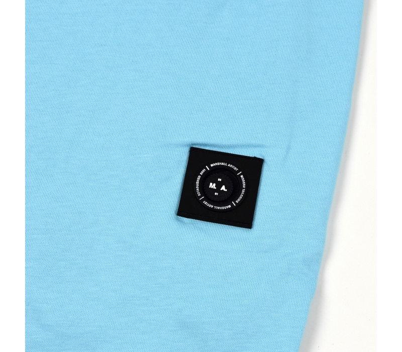 Marshall Artist siren ss t-shirt Aqua blue